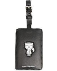 Karl Lagerfeld Багажная Бирка K/ikonik - Черный