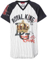 Dolce & Gabbana - Royal King Baseball T-shirt - Lyst