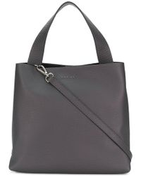 Orciani - Logo Plaque Tote - Lyst