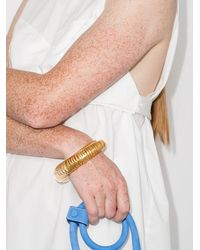 Jacquemus Jacq Les Bracelet Baguier Gld Sprial Brc - メタリック