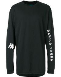 Paura - X Kappa Frank T-shirt - Lyst