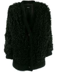 Miu Miu オーバーサイズ コート - ブラック