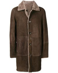 DESA NINETEENSEVENTYTWO - Abrigo con forro de lana de oveja - Lyst