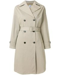 Closed - Double Breasted Trench - Lyst