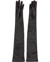 Yang Li Verzierte Handschuhe - Schwarz