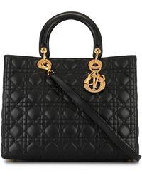 Dior Borsa tote Lady Dior 2way - Nero