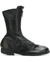 Guidi ジップブーツ - ブラック