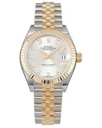 Rolex Reloj Lady-Datejust de 28mm 2021 sin uso - Metálico
