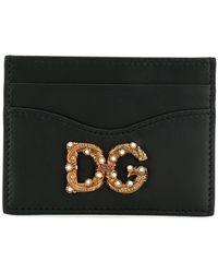 Dolce & Gabbana Dg Pasjeshouder - Zwart