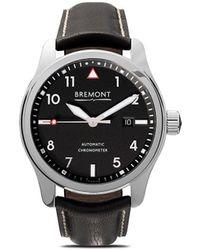 Bremont Наручные Часы Solo Polished Black 43 Мм - Черный