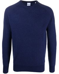 Aspesi ラウンドネック セーター - ブルー