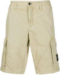 Stone Island Cargo Shorts - Naturel