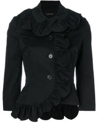 Simone Rocha - Ruffled Fitted Jacket - Lyst