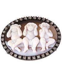 Amedeo - 'monkey' Ring - Lyst