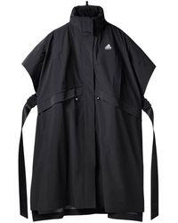 adidas X HYKE poncho à col montant - Noir