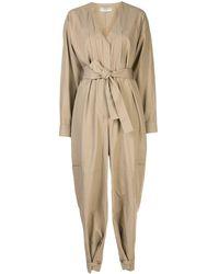 Givenchy マルチポケット ジャンプスーツ - ナチュラル