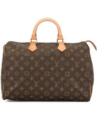 Louis Vuitton Sac fourre-tout Speedy 35 - Marron