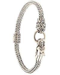 John Hardy Legends Naga Dragon Station Chain Bracelet - Metallic