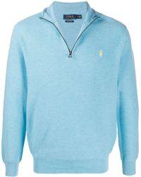 Polo Ralph Lauren Trui Met Logo - Blauw