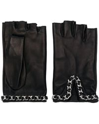 Manokhi Fingerless Gloves - Black