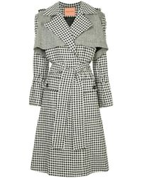 Maggie Marilyn - Gingham Trench Coat - Lyst