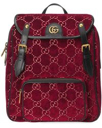 Gucci - GGベルベット バックパック S - Lyst