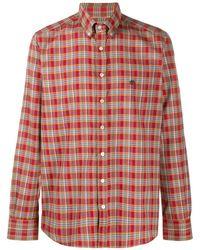 Etro Geruit Overhemd - Rood
