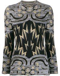 Alberta Ferretti グラフィック セーター - マルチカラー