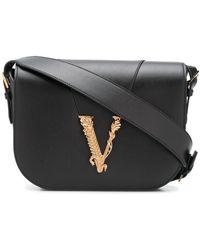 Versace Virtus ショルダーバッグ - ブラック