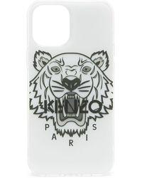 KENZO Чехол Для Iphone 12 Pro Max С Принтом Tiger - Белый