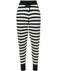 Morgan Lane - Hailey Striped Trousers - Lyst