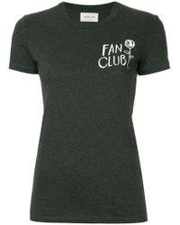 WOOD WOOD - Fan Club T-shirt - Lyst