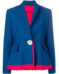 Marni ペプラム ジャケット - ブルー