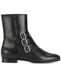 Unützer - Boots With Buckle Detail - Lyst