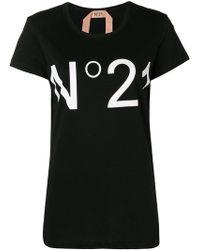 N°21 - Logo T-shirt - Lyst