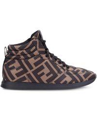 Fendi High-top Sneakers - Bruin