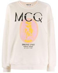 McQ - プリント スウェットシャツ - Lyst