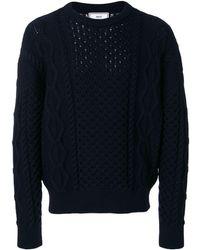 AMI - オーバーサイズ クルーネックセーター - Lyst