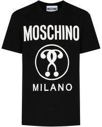 Moschino ロゴ Tシャツ - ブラック