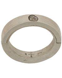 Parts Of 4 'Sistema' Ring - Mettallic
