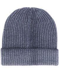 Altea Knitted Beanie Hat - Blue
