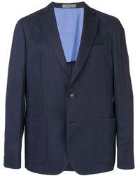 Corneliani テーラード ジャケット - ブルー