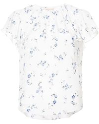 Rebecca Taylor - Floral Print Blouse - Lyst