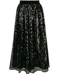 MSGM - スパンコールスカート - Lyst