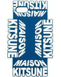 Maison Kitsuné ロゴ Iphone X カバー - ブルー