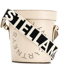 Stella McCartney ロゴ ベルトバッグ - ホワイト
