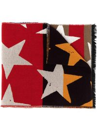 Vivienne Westwood スタープリント スカーフ - イエロー