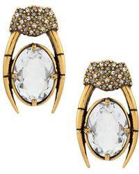Camila Klein - Oval Earrings - Lyst