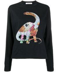 Undercover Dinosaur スウェットシャツ - ブラック