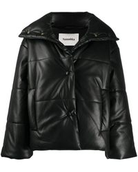 Nanushka Quilted Puffer Jacket - Black